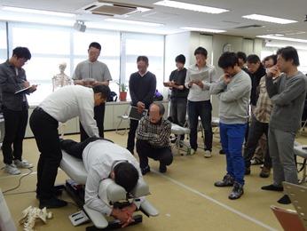 H29.1.15『上部頸椎の評価とアプローチ方法』(大阪) レポート