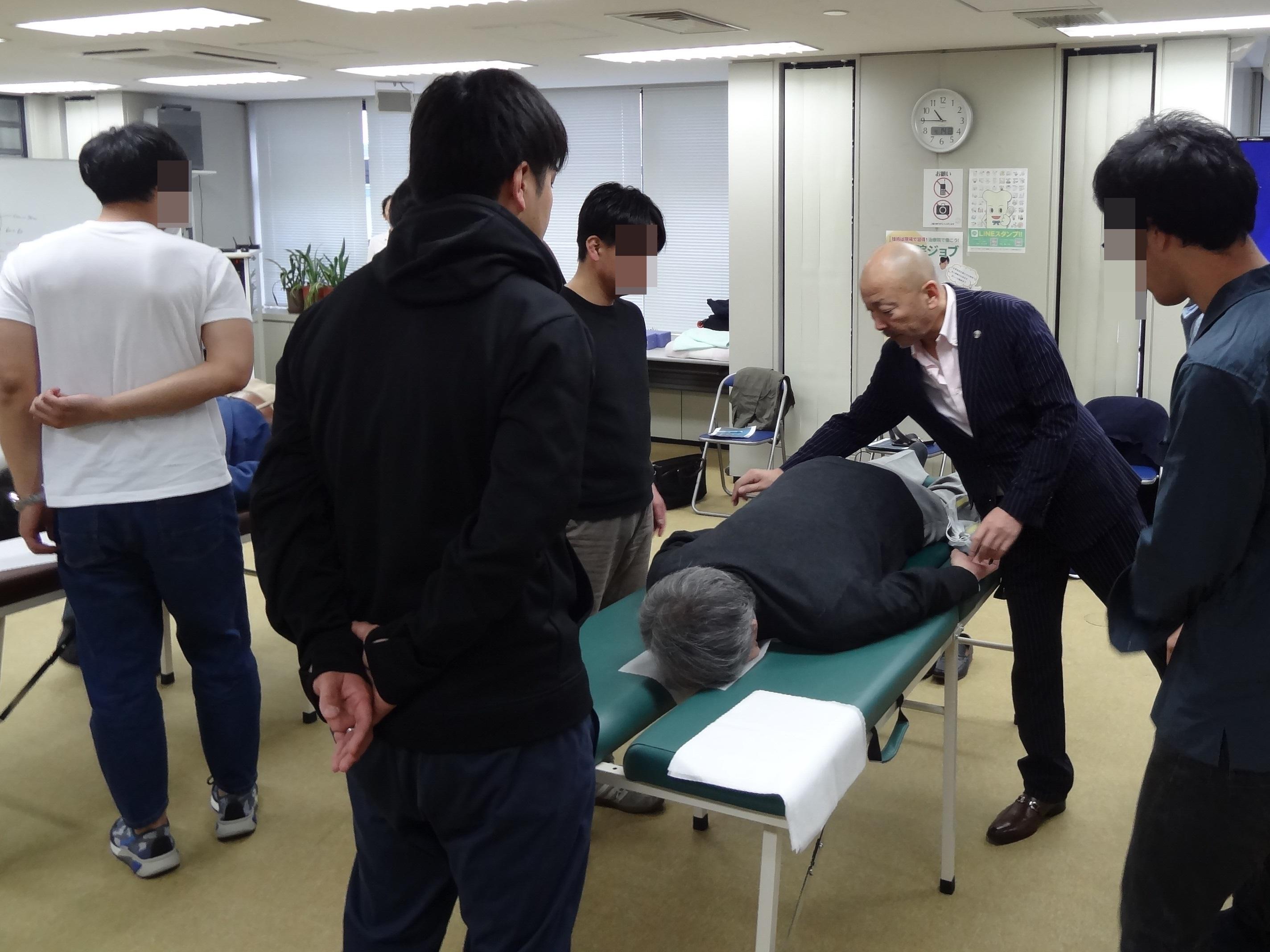 H31.4.14『H.M.B.T(ハイブリッド・メソッド・ブロック・テクニック)腰部疾患、急性腰痛・神経症状』(大阪)