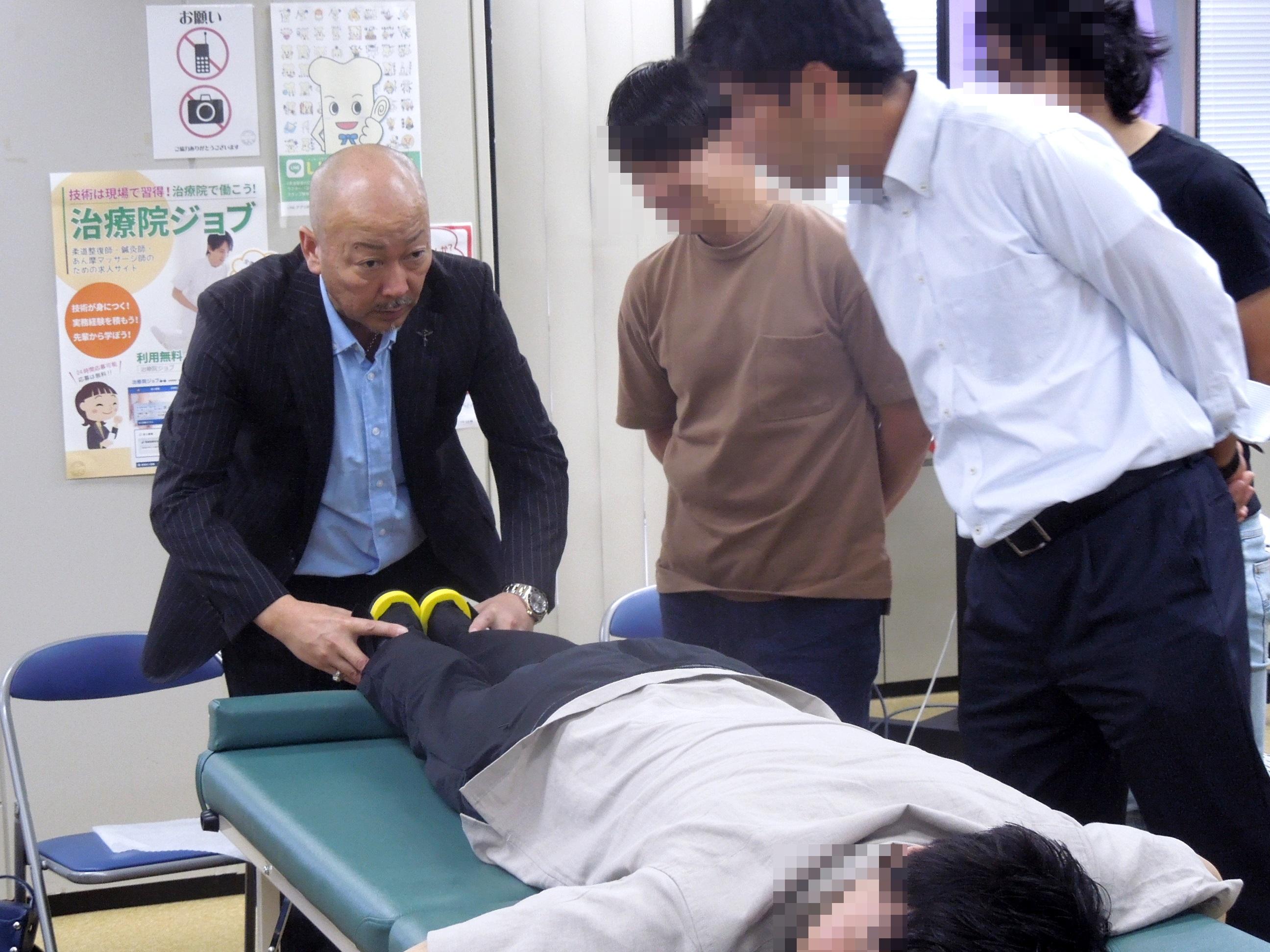 R01.7.14『H.M.T(ハイブリッド・メソッド・テクニック)アイソレーションテスト(脊柱)検査、矯正法』(大阪)